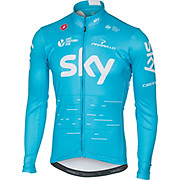 Castelli Team Sky LS Thermal Jersey 2017