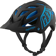 Troy Lee Designs A1 MIPS Helmet - Classic Black-Blue 2017