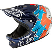 Troy Lee Designs D2 Helmet - Fusion Blue 2017