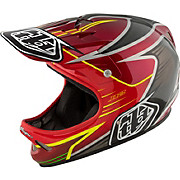 Troy Lee Designs D2 Helmet - Pulse Red 2017
