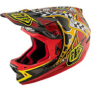 Troy Lee Designs D3 Carbon MIPS - Longshot Red 2017