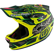 Troy Lee Designs D3 Carbon MIPS - Nightfall Green 2017