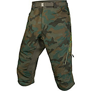 Endura Hummvee Camo II 3-4 Shorts -with Liner 2017