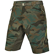 Endura Hummvee Camo II Shorts -with Liner SS17