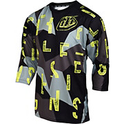 Troy Lee Designs Ruckus Chop Block Jersey 2017