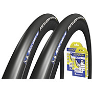 Michelin Power Competition Road Tyres + Tubes
