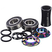 Total BMX Team Mid Bottom Bracket - Rainbow