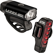 Lezyne Hecto 400L & Strip 150L Pair