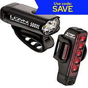 Lezyne Micro 500L & Strip 150L Pair