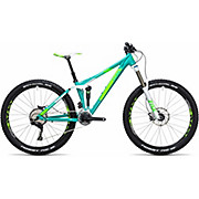Cube Sting WLS 140 Race Full Suspension Bike 2017