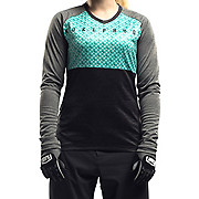 Nukeproof Blackline Womens Long Sleeve Jersey-Corp SS18