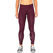 2XU Womens Print Mid-Rise Compression Tight AW17