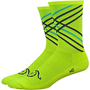Defeet Handlebar Moustache 6 Crossroads Socks