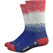 Defeet Wooleator Comp 6 Fade Socks