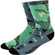 Troy Lee Designs Mixed Camo Crew Socks