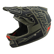 Troy Lee Designs D3 Fiberlite Helmet - Factory Trooper 2018