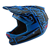 Troy Lee Designs D3 Fiberlite Helmet - Factory Ocean 2018
