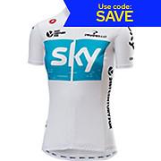 Castelli Womens Team Sky Fan Jersey 2018