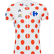 Le Coq Sportif Kids TDF King of the Mountains Jersey 2018