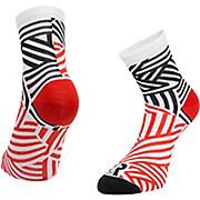 Ratio Dash 10cm Sock Red