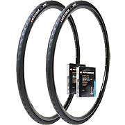 Hutchinson 2 Nitro 2 Road Tyres & 2 Tubes