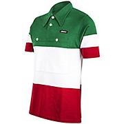 Santini Campione Italia Polo SS Jersey AW17