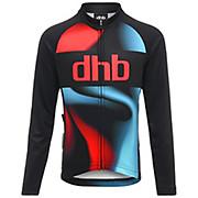 dhb Kids Long Sleeve Jersey - Logo AW18