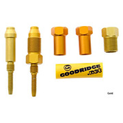 Goodridge Connector Kit 104 M8 Swivel - M8 Male