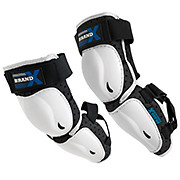 Brand-X X Elbow & Forearm Guards - White