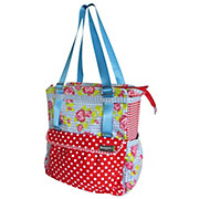Basil Rosa Shopper Bike Bag 20L