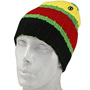 Electric Sunset Stripe Beanie