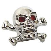 Trik-Topz Skull & Crossbones Valve Caps