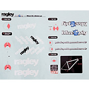 Ragley Blue Pig Decal Kit 2010