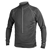 Endura BaaBaa Merino LS Zip Neck Base Layer