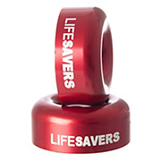 Deity Components Lifesaver End Caps- Red 2012