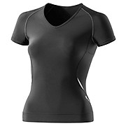 Skins Womens A400 S-S Top with V Neck 2013