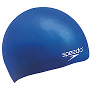 Speedo Plain Moulded - Silicone Cap