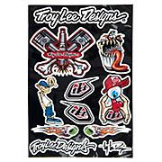 Troy Lee Designs Fun Sticker Page