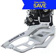 SRAM X9 2x10sp High Clamp Front Mech