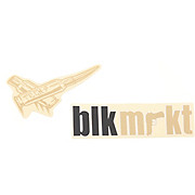 Black Market Bikes Decal Set - Tech 9 Forks 2012