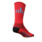 SockGuy One Speed 8 Wool Crew Socks