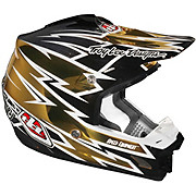 Troy Lee Designs SE3 - Zap Gold Chrome - ECE 2012