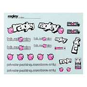 Ragley Blue Pig Decal Kit 2011