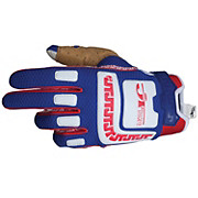 JT Racing Life Line Gloves - Blue-Red