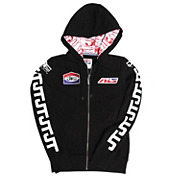 JT Racing Womens Hoodie - Logo Patch