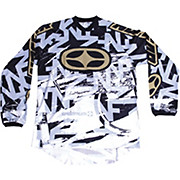 No Fear Spectrum Scratch  Jersey - Black-Gold