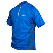 Royal Java Trail 1-4 Zip Jersey - Short Sleeve