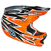 Troy Lee Designs D3 Carbon - Zap Orange 2012
