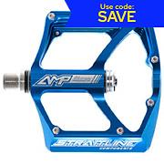 Straitline AMP Ti Axle Flat Pedals