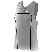 TYR Male Carbon Tri Tank with Zip